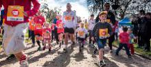 Sports Relief Mile Tamworth Castle Grounds 2016